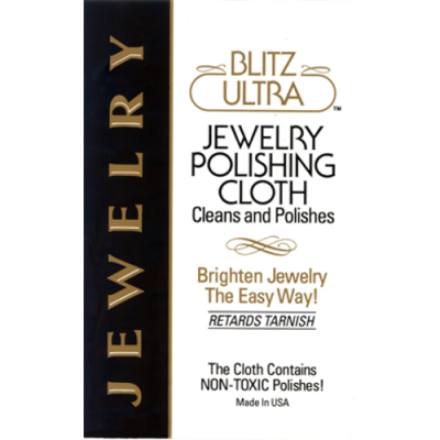 Blitz Jewelry Polishing Cloth