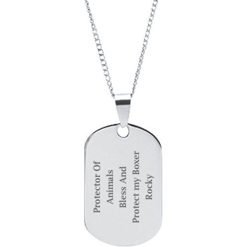 St francis oval pendant engravable 2177 r004e dmd collection stainless steel personalized engraved st francis of assisi pendant aloadofball Gallery