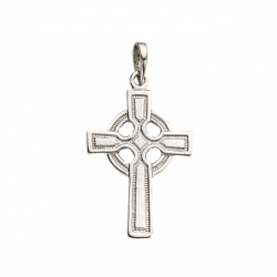 Sterling Silver Celtic Cross Pendant with Chain