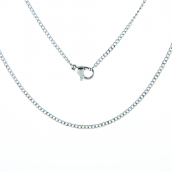 "Stainless Steel 20"" Cable Pendant Chain"