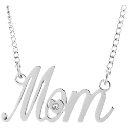 Stainless Steel Mom Necklace