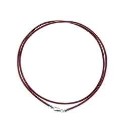 "20"" 2mm Leather Cord"